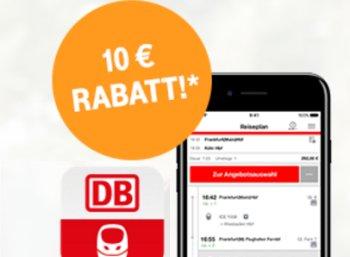 Bahn: 10 Euro Rabatt für Telekom-Kunden bis 12. März 2017