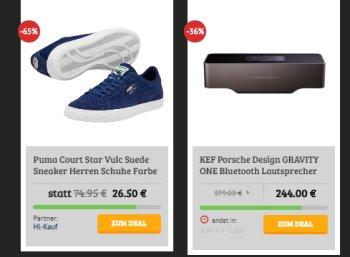 Puma: Sneaker Court Star Vulc für 26,50 Euro beim Dealclub