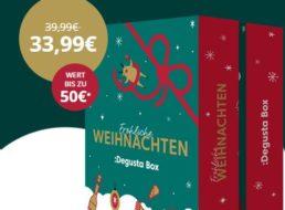 Degustabox: Adventskalender mit 24 Köstlichkeiten für 33,99 statt 39,99 Euro