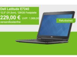 Allyouneed: Dell Latitude E7240 refurb mit 128 GByte-SSD für 229 Euro