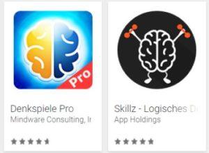 """Gratis: App """"Denkspiele Pro"""" für kurze Zeit zum Nulltarif"""