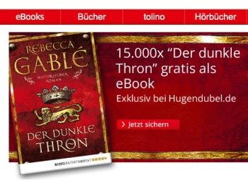 """Gratis-eBook """"Der dunkle Thron"""" bei Hugendubel zum Download"""