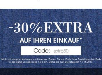 Designermode.com: 30 Prozent Rabatt und Gratis-Versand