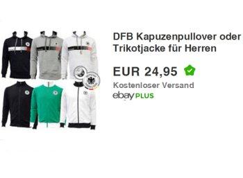 Ebay: DFB-Kapuzenpullover für 24,95 Euro frei Haus