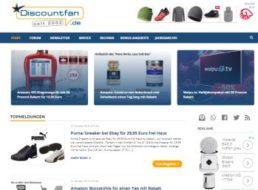 Relaunch: Discountfan.de im neuen Design