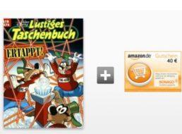 """Comic-Schnäppchen: 7 x """"Disneys lustiges Taschenbuch"""" für zusammen 5,50 Euro"""