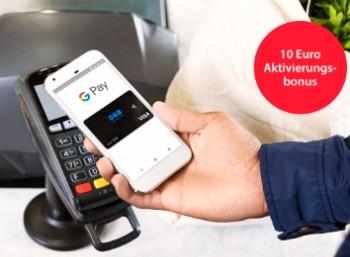 DKB: 10 Euro Gutschrift zur Aktivierung von Google Pay
