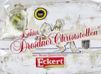 Ebay: Echter Dresdner Christstollen mit 1,5 Kilogramm für 22,50 Euro frei Haus