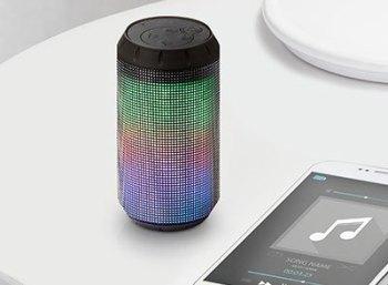 Druckerzubehoer.de: LED-Bluetooth-Lautsprecher für 9,94 Euro frei Haus