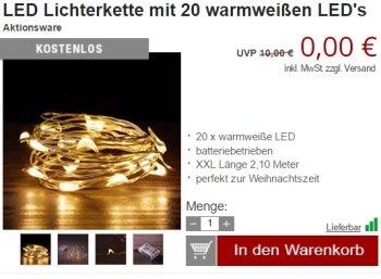 Druckerzubehoer.de: Weihnachtliche Gratis-Artikel für wenige Tage