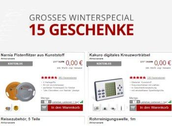Druckerzubehoer.de: Neun Produkte für 5,97 Euro inklusive Versand