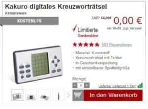 Druckerzubehoer.de: 14 Artikel für 0 Euro plus Versand