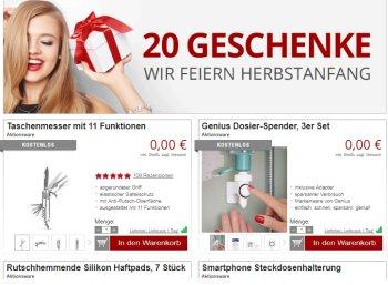Druckerzubehoer.de: 20 Artikel für je 0 Euro, solange Vorrat reicht