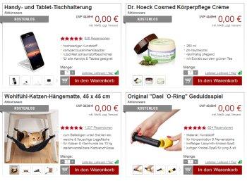 Druckerzubehoer.de: Katzen-Hängematten und Sagrotan für 0 Euro