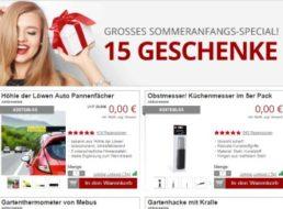 Druckerzubehoer.de: Elf Produkte für 0 Euro plus Versand
