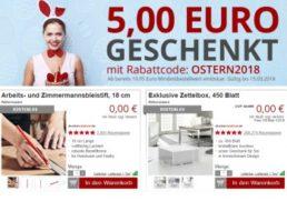 Druckerzubehoer: 5 Euro Rabatt ab 20 Euro Warenwert