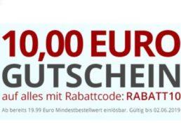 Druckerzubehoer: 10 Euro Rabatt ab 20 Euro Warenwert
