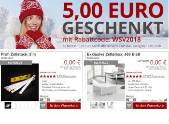 Druckerzubehoer.de: 5 Euro Rabatt ab 19,95 Euro Warenwert