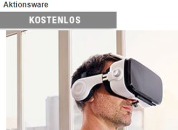 Druckerzubehoer.de: VR-Brille mit integrierten Kopfhörern für 5,97 Euro frei Haus