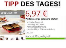 Druckerzubehoer.de: Waffeleisen für 6,97 Euro plus Versand