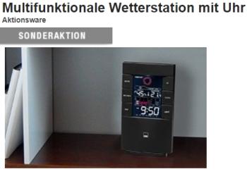 Druckerzubehoer.de: Wetterstation mit Uhr für 2,97 Euro plus Versand