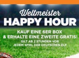 Gratis: Zweite 6er-Box Donuts gratis in der Happy Hour