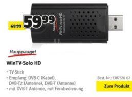 Conrad: Spezial zu DVB-T2 mit Fernsehern, Sticks, Receivern und mehr