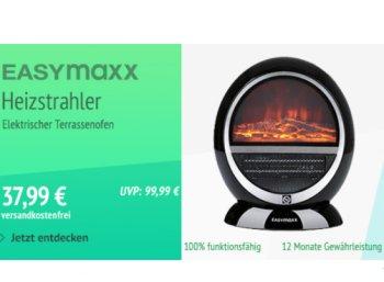 Allyouneed: Terrassen-Heizstrahler mit Kamineffekt (B-Ware) für 37,99 Euro