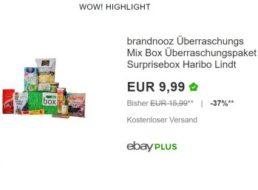Brandnooz: Überraschungsbox im Wert von 18 Euro für 9,99 Euro frei Haus