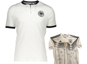 Ebay: DFB-Retroshirt mit Chance auf signiertes Trikot für 22,95 Euro