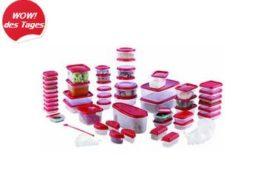 Ebay: Maxx Cuisine Gefrierdosen-Set (112 Teile) für 17,99 Euro frei Haus