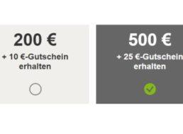 Gratis: Ebay-Gutschein über 5 – 25 Euro fürs Verkaufen mit Verkaufsziel