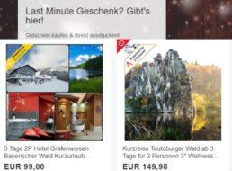 Ebay: Lastminute-Gutscheine für Reisen und mehr ab einem Euro