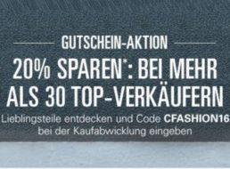Ebay: Mode-Rabatt von 20 Prozent auf zahlreiche Top-Marken