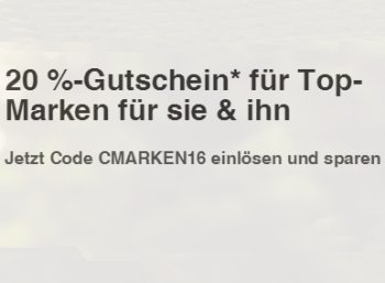 Ebay: Mode-Rabatt von 20 Prozent plus 20 Prozent on top