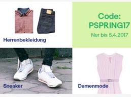 Ebay: 25 Prozent Rabatt auf Frühjahrsmode und Sneaker