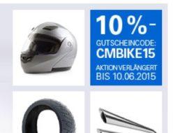 Ebay: Noch eine Woche Motorrad-Rabatt von zehn Prozent