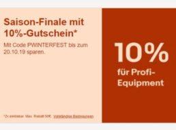 """Ebay: 10 Prozent Rabatt auf """"Profi-Equipment"""" für elf Tage"""