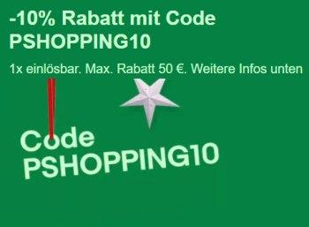 Ebay: 10 Prozent Rabatt auf Elektronik und mehr bis kommenden Mittwoch