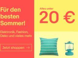 Ebay: Garten- und Grillartikel unter 20 Euro frei Haus
