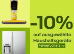 Ebay: 10 Prozent Rabatt auf zahlreiche Haushaltsgeräte für wenige Tage