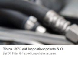Ebay: Inspektionspakete und Motoröl mit bis zu 30 Prozent Rabatt