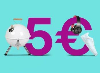Ebay: Gutschein über 5 Euro ohne Mindestbestellwert