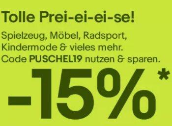 Ebay: 15 Prozent Oster-Rabatt auf Radartikel, Küchenprodukte und mehr