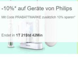 Ebay: 10 Prozent Philips-Rabatt auf 164 Geräte