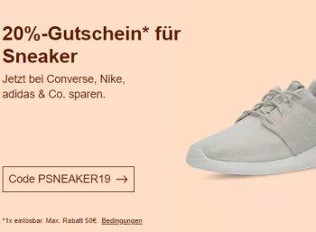 Ebay: Sneaker und Sportschuhe von Adidas und Nike mit 20 Prozent Rabatt