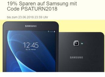 Ebay: 19 Prozent Samsung Rabatt für wenige Tage