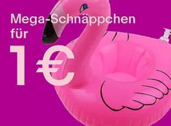 Ebay: Ein-Euro-Shop mit Gratis-Versand gestartet