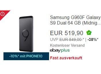 Ebay: Smartphone-Sale mit 10 Prozent Sonder-Rabatt
