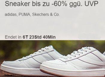 Ebay: Sneaker von Adidas, Puma & Co. ab 9,99 Euro frei Haus